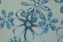 Blaues Blumen-Muster Lizenzfreie Stockfotografie