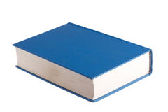 Blaues Buch Stockfotografie