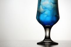 Blaues Cocktail Stockfotografie