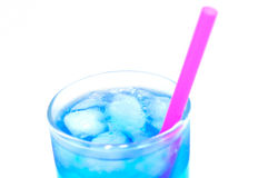 Blaues Cocktail Stockfoto