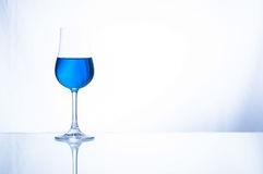 Blaues Cocktail lizenzfreies stockbild