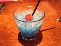 Blaues Cocktail Lizenzfreie Stockfotografie