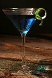 Blaues Curaçao-Cocktail Stockfotos