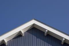 Blaues Dach Stockbild