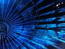 blaues Designdach Lizenzfreie Stockfotos