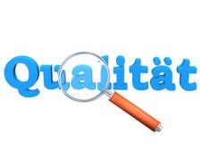 Qualitäts-Lupe Lizenzfreie Stockfotos