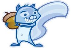 Blaues Eichhörnchen lizenzfreie abbildung