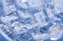 Blaues Eis Lizenzfreie Stockfotografie