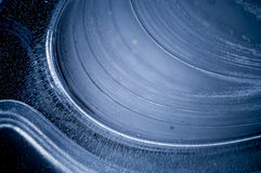 Blaues Eis-Muster-Detail Lizenzfreie Stockfotos