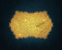Blaues Element für Design Schablone für Entwurf kopieren Sie Raum für Anzeigenbroschüre oder Mitteilungseinladung, abstrakter Hin Stockbild