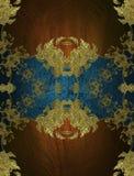 Blaues Element für Design Schablone für Entwurf kopieren Sie Raum für Anzeigenbroschüre oder Mitteilungseinladung, abstrakter Hin Lizenzfreie Stockfotografie