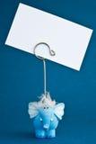 Blaues elephant2 Lizenzfreies Stockbild