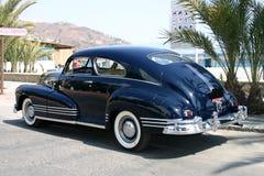 blaues Familienauto der Tinte 1947 Stockbilder