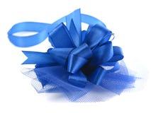 Blaues Farbband Stockfotos