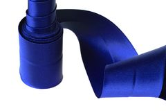 Blaues Farbband Stockfoto