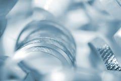 Blaues Farbband-Hintergrund Lizenzfreie Stockfotos