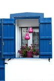 Blaues Fenster Stockfotos
