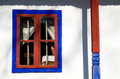 Blaues Fenster Stockbilder