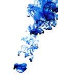 Blaues flüssiges Formular Lizenzfreie Stockbilder