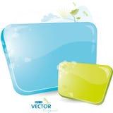 Blaues Formular mit Baum vektor abbildung
