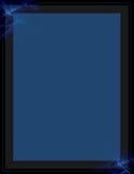 Blaues Fractalzeichen lizenzfreie stockfotografie