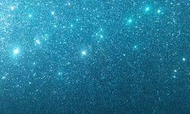Blaues Funkeln maserte Hintergrund, stock abbildung