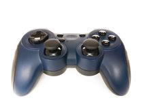 Blaues gamepad Stockbilder
