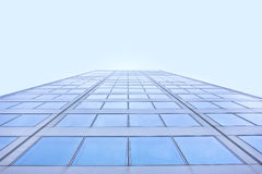 Blaues Gebäude Lizenzfreie Stockfotografie