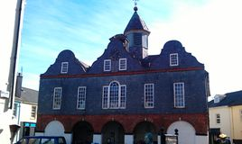 Blaues Gebäude Lizenzfreies Stockbild