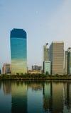 Blaues Gebäude Stockfotografie
