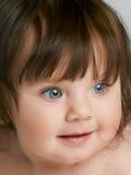 Blaues gemustertes Kleinkind Lizenzfreie Stockfotografie