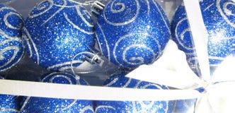 Blaues Geschenk 18 Stockfoto