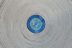 Blaues Glas Stockfotografie