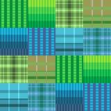Blaues Grün der Musterpixelbeschaffenheit Lizenzfreies Stockfoto