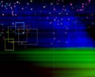 Blaues Grün des Hintergrundes stock abbildung