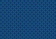 Blaues Grün-Diamant-Muster stock abbildung