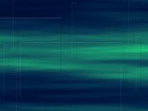 Blaues Grün-Hintergrund Lizenzfreie Abbildung