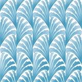 Blaues grafisches Muster Lizenzfreie Stockbilder