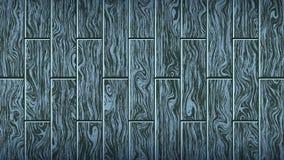 Blaues graues hölzernes Brett Woody-Eichenbeschaffenheit Die Form des Parketts, lamellenförmig angeordneter Bodenbelag, Möbel vektor abbildung