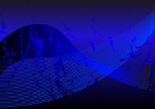Blaues grunge Stockfoto