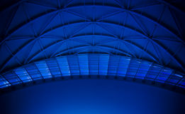 Blaues Haube-Dach   Stockbilder