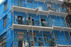Blaues Haus (Hong Kong) Lizenzfreies Stockbild