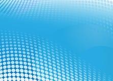 Blaues Hintergrundhalbtonbild Lizenzfreie Stockfotos
