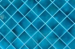Blaues keramisches Stockfotografie