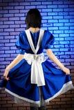 Blaues Kleid lizenzfreie stockfotos