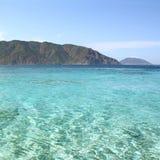 Blaues Kristallwasser Treibnetz für Thunfischfischen Die Türkei Stockfotografie