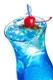 Blaues Lagunecocktail Stockbilder