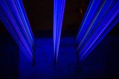 Blaues Laserlicht Lizenzfreie Stockbilder