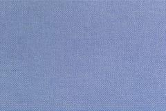 Blaues Leinengewebe für den Hintergrund Lizenzfreie Stockfotografie
