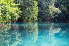 Blaues Loch Lizenzfreie Stockfotografie